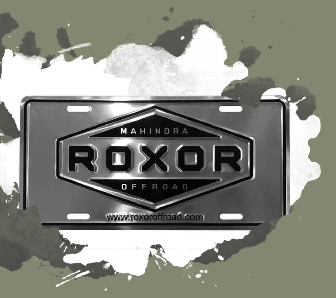 Plaque-officielle-Roxor-Mahindra